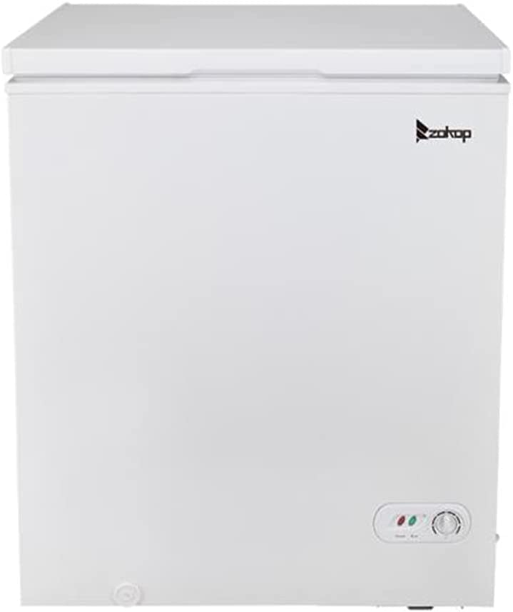 5.0 Cubic Feet Top Sale SALE% OFF Chest Thermostat Adjustable Freezer Ranking TOP2 with and