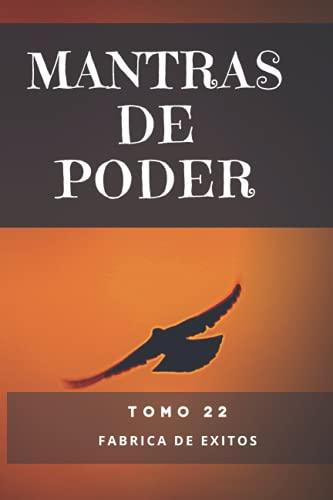 Mantras de Poder: Libro 22 Mentalidad positiva, mente millonaria, exito, salud, creatividad y relajacion con mandalas y frases de poder. Me mantengo alegre