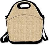 Bolsas de almuerzo de polinesia con correa para la escuela, picnic, trabajo, lonchera, bolsos lindos para mujer