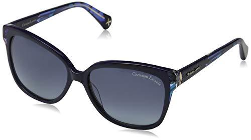 Christian Lacroix CL Gafas de sol, Azul (Navy/Grey), 57.0 para Mujer