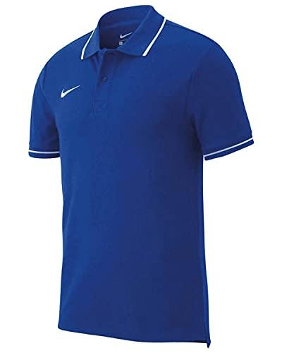 NIKE M Polo TM Club19 SS Camiseta de Manga Corta, Hombre, Royal...