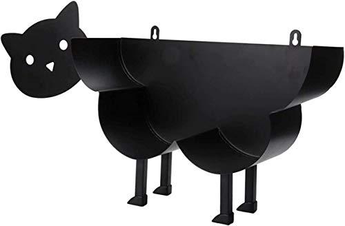 トイレットペーパーホルダー トイレットペーパーホルダー羊犬猫装飾トイレットホルダーバスルームシェルフデコレーションバスルームスタンディングバ