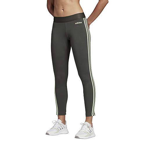 adidas W E 3s Tight Damen-Leggings S dunkelgrau/Verbri