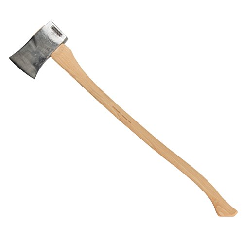 Amer Felling Axe, 4 lb, Hickory, 35-3/8 in