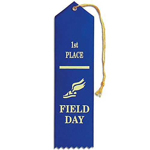 Set of 50 Field Day 1st Place Ribbons - Carded