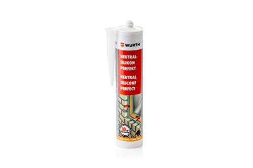Würth Silikon Anthrazit Neutral-Perfekt 310ml Kartusche Fensterverglasung
