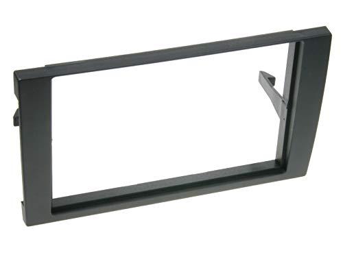 Acv 281320–18_ 1de 2DIN de Radio para Audi A4B6/B72002–2009/Seat Negro