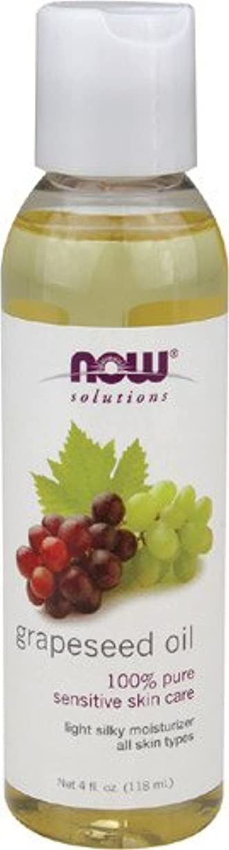 比類なきペンフレンド剣Now Foods Grape Seed Oil, 4-Ounce (Pack Of 2)
