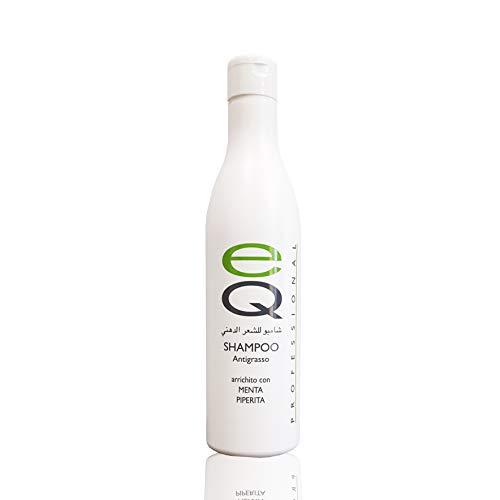IL MIGLIORE SHAMPOO CAPELLI GRASSI con Menta Piperita da 500 ml Professionale Parucchieri lavaggi frequenti capelli grassi