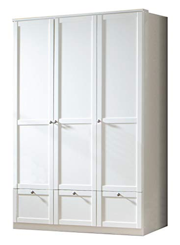 Wimex Kleiderschrank/ Drehtürenschrank Filou, (B/H/T) 198 x 58 x 135 cm, Weiß