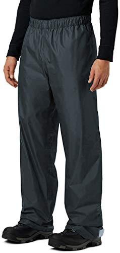 KOUDYEN Pantalones Lluvia Impermeable Hombre Ligero Transpirable Pantalones Trekking Ciclismo Moto Hombre Aire Libre YK5415M-Grey-S