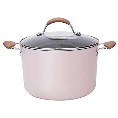 Olla de sopa de piedra de Maifan, gran capacidad, cocina, sartén, cocina de inducción doméstica, estufa de gas, olla de 22 cm