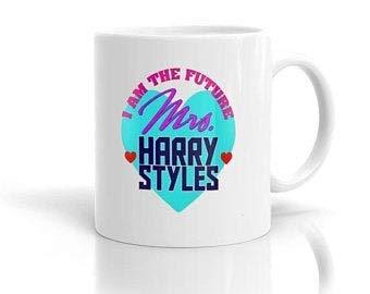 Taza personalizada futura señora harry styles 11 oz-regalo para novio novia amigos familia taza 11 oz