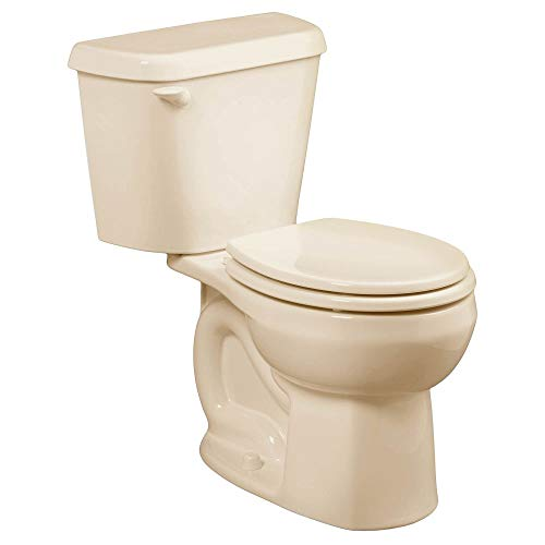 American Standard 221DB004.021 Colony 1.6 GPF 2-Piece Elongated Toilet with 10-In Rough-In, Bone