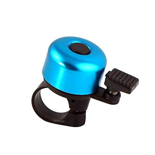 QIUBD 2 Piezas de Scooter para niños Bell Bicycle Car Bell Bicycle Horn-Blue_Handlebars con un diámetro de 2.5 cm o Menos