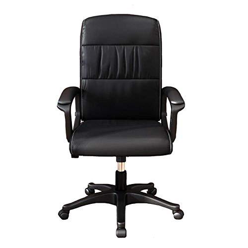 WSDSX Freizeitstühle Büro Drehstuhl, Lehrstuhl Computer Stuhl Sessel PU Sitz Executive Höhenverstellbar Langlebig stark