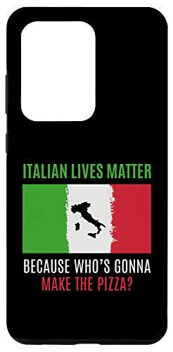 Galaxy S20 Ultra Italian Lives Matter Funny ILM Italia Quote Italia Case