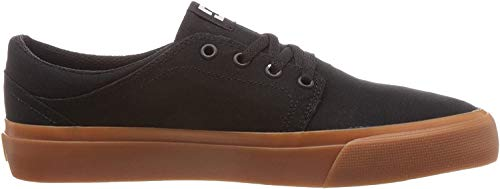 DC Shoes Herren Trase TX Low-Top Sneaker, Schwarz (Black/Gum Bgm), 44.5 EU