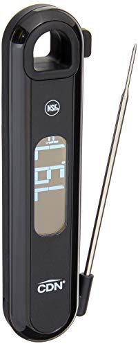Component Design Northwest Rotating Black Thermocouple Thermometer, Standard Size