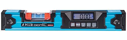 シンワ測定(Shinwa Sokutei) ブルーレベル Pro2 350mm 防塵防水のデジタル水平器 75313
