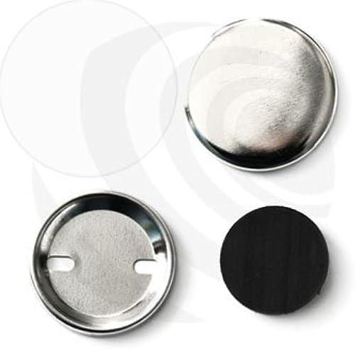 Buttonorder 37mm Button-Rohmaterial mit Fl enmagnet    100 Stück