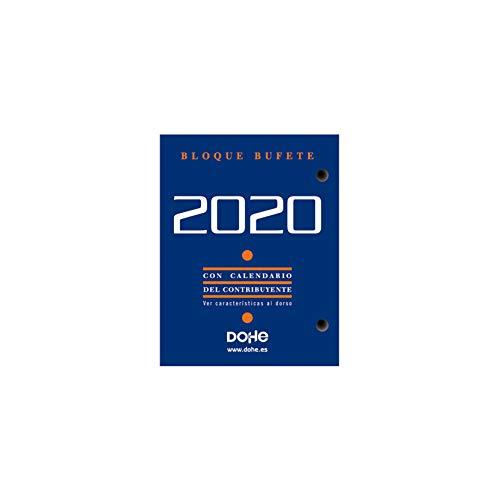 Dohe Bloque Bufete - Agenda 2019, castellano, 8.5 x 11 cm