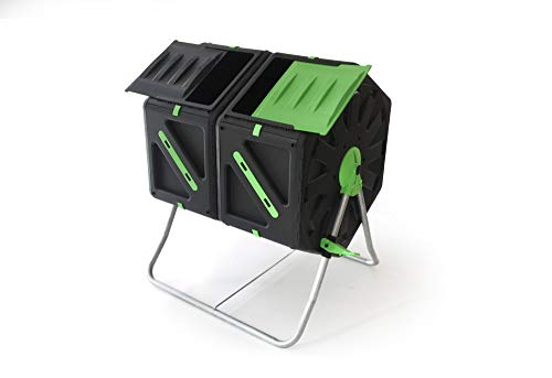 Photo of Good Ideas 140 Litre (2x 70Litre) Twin Chamber Tumbling Composter (TMK-01577)