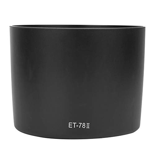 カメラ用レンズフード ET-78IIカメラマウントレンズフード Canon EF 135mm F2L 180mm F3.5L USMレンズ用 取...