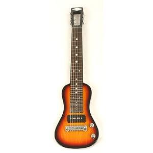 SX Lap 2 Ash 3TS Electric Lap Steel Guitar w/Bag