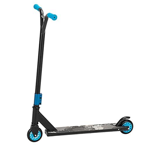 MKKYDFDJ Freestyle Scooter, Scooter de 360 grados de rotación para niños, Scooter para adultos, Pro Freestyle Scooter para niños y adolescentes, Freestyle Trick Scooter