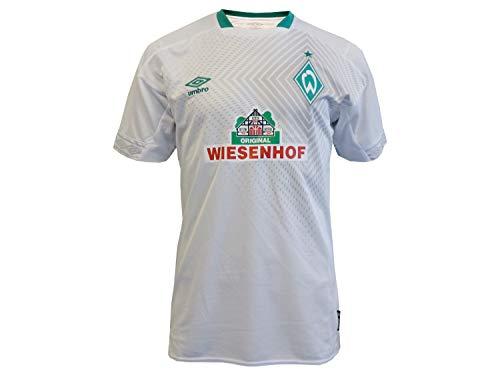 Umbro Sv Werder Bremen 3rd 2018/2019 Camiseta, Weiß/Grün, XXL para Hombre
