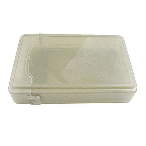 Pixnor Disco Duro Caja Protectora Disco de Plástico Hdd a Prueba de Golpes Cubierta de La Caja de Almacenamiento Antiestático para...