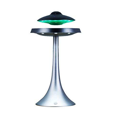 ZHTY Floating UFO Altoparlante LED Lampade a Sospensione Magnetica Table Lamp Bluetooth Wireless Speaker Ricarica Effetto Speaker 3D Surround