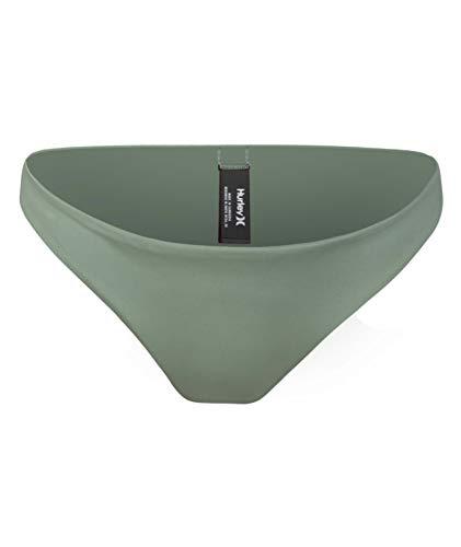 Hurley W Mod Surf Bottom Parte De Abajo Bikini, Mujer, Spruce Fog, XS