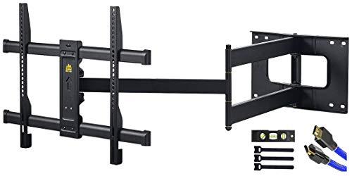 FORGING MOUNT TV-Wandhalterung 109cm Gelenkarm schwenkbar neigbar TV-Halterung,für 37-80 Zoll TV, bis 50 kg,VESA600x400mm