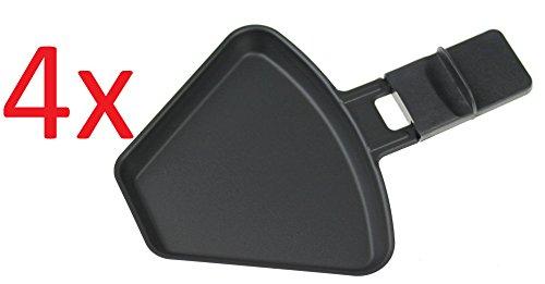 (vier) Severin 0315048 Pfännchen für RG2681 Raclette (Größe siehe Beschreibung)
