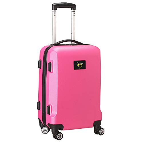 Great Deal! Denco NCAA Georgia Tech Yellow Jackets Carry-On Hardcase Spinner, Pink, 8.25