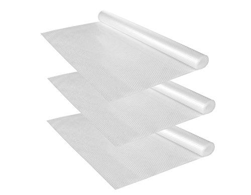 Kela 3er Set Schubladenmatte Soletta, 150 x 50 cm, Antirutschmatte, rutschhemmende Unterlage für Schubladen, Regaleinlage, Unterlegmatte, EVA-Kunststoff, zuschneidbar