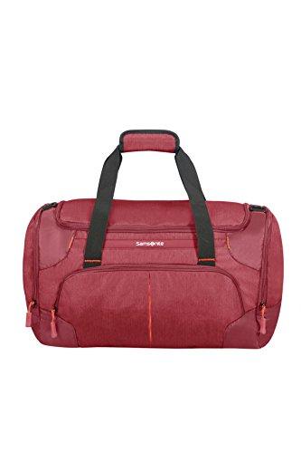 Samsonite Rewind, Bolsa de viaje, 55 cm, Rojo (Granita Red)