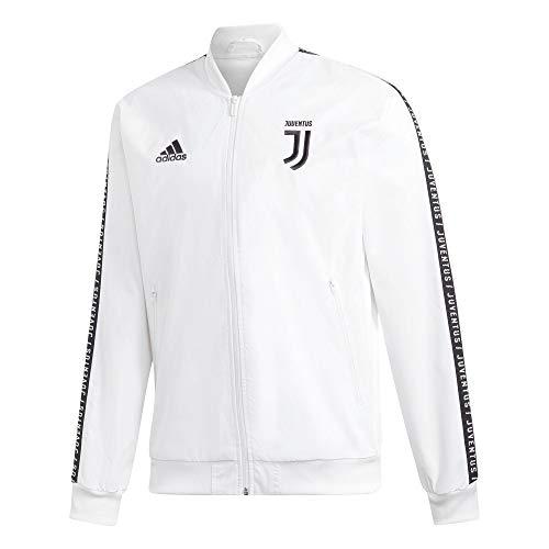 adidas Juve Anthem JKT Herrenjacke XL weiß