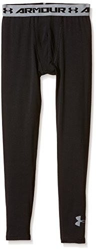 Under Armour Fitness - und Shorts Leggings - Pantalones de compresión de Running para Hombre, Color Negro, Talla XL