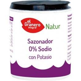 Granero Sazonador 0 Sodio Con Potasio 200 G Envase De 200 G 200 ml