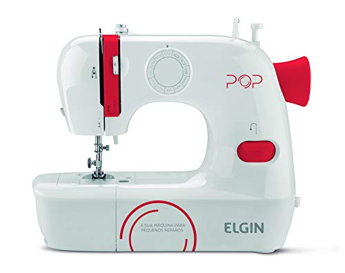 Máquina De Costura Elgin Portátil Pop BL1009 9 Pontos Bivolt
