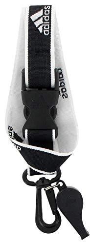 adidas Coach's Schlüsselband und Pfeife II Einheitsgröße schwarz/weiß