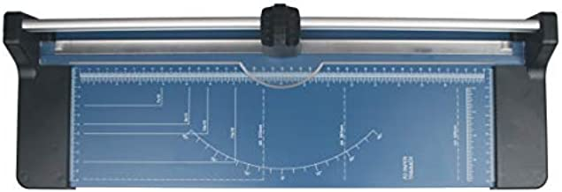 Supremo Paper Trimmer, Rotary Paper Cutter,18 Inch Cut,10 Sheets Capacity