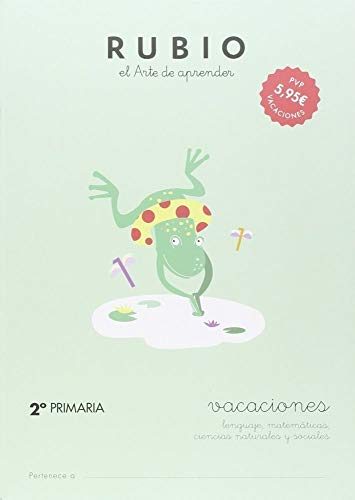 RUBIO VACACIONES - 2º PRIMARIA - 9788415971627: 3 (Vacaciones RUBIO)