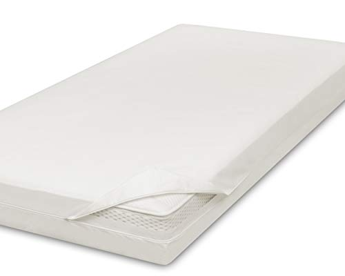 allsana Allergiker Matratzenbezug 160x200x30 cm Allergie Bettwäsche Anti Milben Encasing Milbenschutz für Hausstauballergiker, ideal für Boxspringbetten