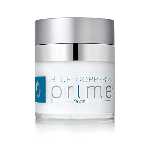 Osmotics Blue Copper 5 Prime Face, Anti Aging Face Cream For Men and Women, Best Cream For Wrinkles, Firming, Acne, Age Spots, and Skin Tone, Day & Night - Made in USA