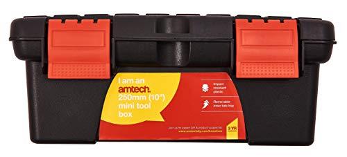 Am-Tech de 10 pulgadas mini caja de herramientas N0135