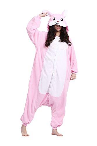 Costumi Animali Adulti Pigiama Unicorno Onesie Donna Rosa...